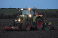 Claas Axion 820 Tractor with a Farm Force Front Press and an Amazone AD-P 303 Special Seed Drill (Shane Casey CK25) Tags: claas axion 820 tractor farm force front press amazone adp 303 special seed drill ladiesbridge traktori traktor trekker tracteur trator ciągnik sow sowing set setting drilling tillage till tilling plant planting crop crops cereal cereals county cork ireland irish farmer farming agri agriculture contractor field ground soil dirt earth dust work working horse power horsepower hp pull pulling machine machinery grow growing nikon d7200 wheat winter