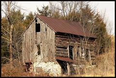 Losing the fight (cscott_va.) Tags: barn old abandoned virginia rockingham county explore