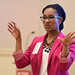 Shaefny Grays, associate director of the Community for Diversity at NC State's College of Natural Resources, led a session on salary negotiation.