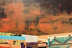 Jim Harris: New Earth 10 (Jim Harris: Artist.) Tags: art arts arte lartabstrait abstract maalaus malerei málverk makabe målning schoolofthemuseumoffinearts schilderij