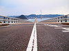 go straight (matsugoro) Tags: olympus pen digital epl2 zuiko mzuiko 25mm shimonoseki yamaguchi bridge tsunosima straight road line