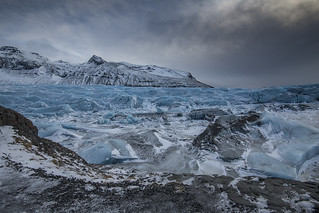 Svinafell Glacier, Iceland
