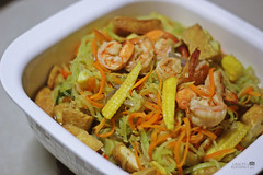 Veggie Pansit (graceygil) Tags: veggies graciasakusina shrimp youngcorn tofu carrots homecooking homemade easytocook