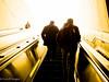 Into your dream. (Color) (CornellBurgessphotography) Tags: streetphotography cornellburgess washingtondc ianburgess escalator city metro