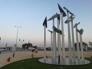 מרחב ציבורי ופיסול באור יהודה