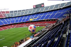 Barca Nou Camp0042 (schulzharri) Tags: spanien spain espana barcelona camp nou stadion arena estadio barca