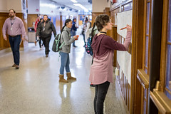 """Sign In"" at High School (Phil Roeder) Tags: desmoines iowa desmoinespublicschools roosevelthighschool gunviolence protest students student school canon6d canonef50mmf18"