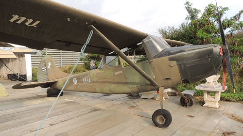 Cessna Bird Dog 7415-6 Tango Chiang Mai 11Jan18
