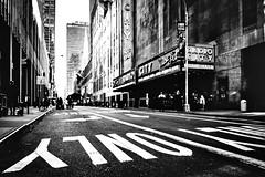 Only (TS_1000) Tags: stphotography streetphotography blackandwhitephotography parade 28mm summilux q leica sw bnw street radiocitymusichall nyc ny newyork