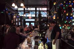 Christmas party, Old Town Bar, New York City, USA (Plan R) Tags: oldtown bar christmas party newyork nyc manhattan leica m 240 summilux 35mm tree lights window