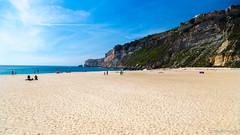 The beautiful  Nazare's Beach, Portugal (Andre Yabiku) Tags: nazaré leiria portugal pt andreyabiku yabiku