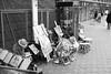 Painters in Tokyo. (Akira.Tagawa_JPN)) Tags: akira tagawa ueno park painter drawer monochrome kimono 上野 公園 上野公園 モノクローム 着物 絵描き