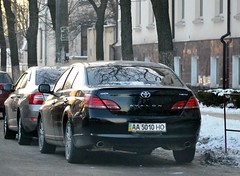 AA5010HO (License plates spotter from Ukraine) Tags: toyota avalon licenseplates ukraine kyiv номернізнаки aa5010ho aa україна київ aaho black