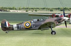 Spitfire (Bernie Condon) Tags: vickers supermarine spitfire warplane fighter raf royalairforce fightercommand ww2 battleofbritian military preserved vintage aircraft plane flying aviation