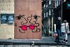 All Gone (stevedexteruk) Tags: anna laurini street art graffiti silverplace lexington soho london city westminster 2018 face lips