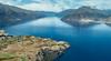 Lake Wakatipu, New Zealand (RaKra42) Tags: berg berge gebirge landschaft luftaufnahme neuseeland aerialphotography lake landforms landscape landscapes mountain mountains newzealand oceania