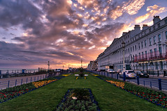 Eastbourne sunset (Jim Nix / Nomadic Pursuits) Tags: 24240mm aurorahdr2018 eastsussex eastbourne england hdr jimnix luminar2018 macphun nomadicpursuits skylum sony sonya7ii uk unitedkingdom coast coastal goldenhour highdynamicrange sunset travel