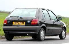 J972 BVX (Nivek.Old.Gold) Tags: 1992 ford fiesta 11 lx 5door candor