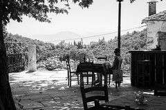 Street shot, Pelion Greece (mafate69) Tags: eu ue europe greece grèce pelion rue reportage street streetshot streetlevelphoto blackandwhyte bw nb noiretblanc documentary documentaire mafate69 portrait photojournalisme photoreportage photojournalism candid