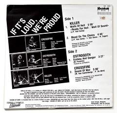 A0532 Various – If It's Loud, We're Proud (vinylmeister) Tags: vinylrecords albumcoverphotos heavymetal thrashmetal deathmetal blackmetal vinyl schallplatte disque gramophone album
