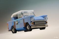 Harry Potter flying Ford Anglia 105E (junk version) _07 (_Tiler) Tags: lego car vehicle ford fordanglia fordanglia105e harrypotter flyingcar weasley ronweasley harrypotterandthechamberofsecrets