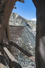 Trestle Woodwork (charles25001) Tags: goatcanyon carrizogorge trestle impossiblerailroad bridge goatcanyontrestle california railroad