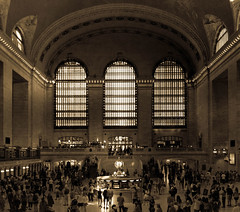 New York (TD2112) Tags: newyork usa city architecture street urban grandcentralstation sepia windows