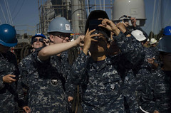 170821-N-DS883-068 (USS Frank Cable (AS 40)) Tags: ussfrankcable as40 submarinetender usnavy navy eclipse solareclipse portland oregon sailors civilianmariners msc militarysealiftcommand vigor shipyard solareclipse2017