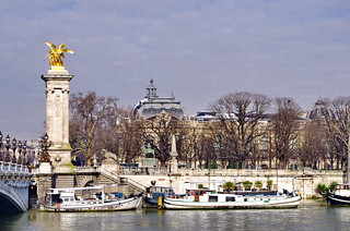 242 Paris en Février 2018 - le Pont Alexandre III et le Grand Palais