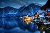 Hallstatt Blues (hapulcu) Tags: ֳterreich winter lake lac invierno hiver oostenrijk ober泴erreich autriche austrija austria hallstatt österreich oberösterreich halstatt