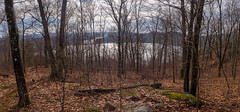 Monksville Reservoir from Monks Mountain (Dave Landry) Tags: monksvillereservoir northamerica paces flickr newjersey ringwood unitedstates monksmountain pano passaiccounty