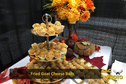 """Fried Goat Cheese Balls • <a style=""""font-size:0.8em;"""" href=""""http://www.flickr.com/photos/159796538@N03/40464365861/"""" target=""""_blank"""">View on Flickr</a>"""