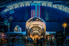 Space Shuttle Discovery (YL168) Tags: nationalairandspacemuseum stevenfudvarhazycenter spaceshuttle discovery washingtondc smithsonian 攝影發燒友 airandspacemuseum udvarhazy virginia closeup airplane sony space a6000