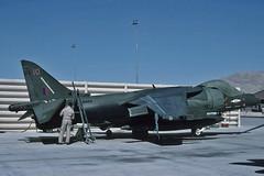 RAF 1 Squadron GR.7 Harrier ZD464 (skyhawkpc) Tags: 1994 zd464 armitagefield britishaerospace harrier gr7 raf nwcchinalake aviation aircraft