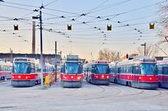TTC Russell Yard, 1433 Queen Street East, Toronto, ON (Snuffy) Tags: ttcrussellyard torontotransitcommission ttc 1433queenstreeteast toronto ontario canada russellcarhouse