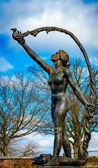 Reservoir Park Statue (charlie_guttendorf) Tags: guttendorf harrisburg nikon nikon18200mm nikond7000 park statue art fountain