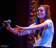 Amy Shark @ Columbia City Theater (Kirk Stauffer) Tags: kirk stauffer photographer nikon d5 adorable amazing attractive awesome beautiful beauty charming cute darling fabulous feminine glamour glamorous goddess gorgeous lovable lovely perfect petite precious pretty siren stunning sweet wonderful young female girl lady woman women live music tour concert show stage gig song sing singer vocals vocalist perform performing musician band lights lighting indie long brown hair brunette red lips blue eyes white teeth model tall fashion style portrait photo smile smiling aussie australian