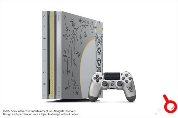 港版《戰神》限定版PlayStation 4 Pro將於4月20日發售 售價3580港幣