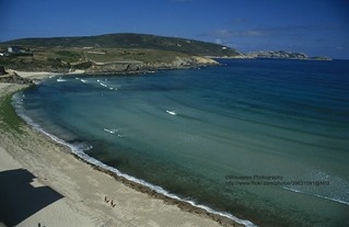 Malpica, beach