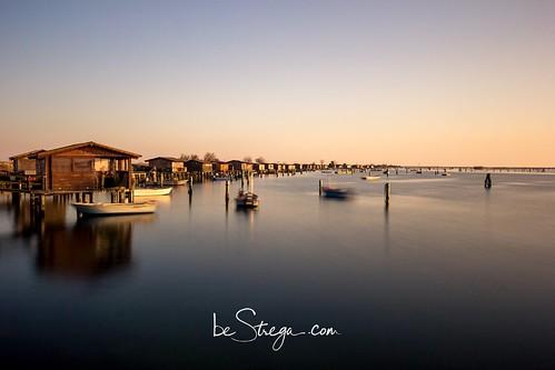 Porto Barricata sul delta del Po a Rovigo