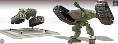 Heavy Mallard Lander 04 (messerneogeo) Tags: messerneogeo robot mech mecha lander heavy mallard lego