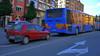 Renault Clio (Jusotil_1943) Tags: 230118 bus car redcars