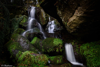 Lichtenhainer Waterfall (Saxon Switzerland)