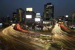 Flow (TigerPal) Tags: seoul korea korean seoulstation seoullo7017 longexposure lighttrails city cityscape landscape night dusk evening bluehour ndfilter afterdark