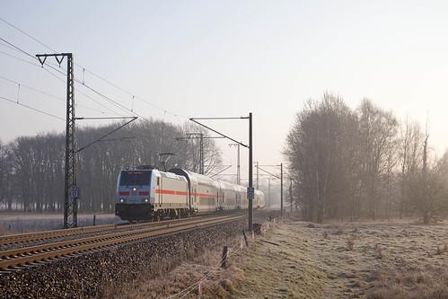 DB 146 564 + IC 2432 Cottbus - Nordeich (Mole)  - Kuhfort