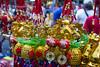 CNY Dog Trinkets (jperthllave) Tags: chinesenewyear binondo yearofthedog cny manila trinkets ornaments philippines gold colors pentax smcpfa28105mmf3245al