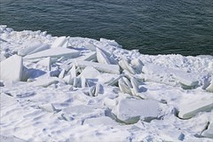 Ice (Sue90ca Flic*kr Is Finicky, Unable To Comment) Tags: canon 6d stclair river ice