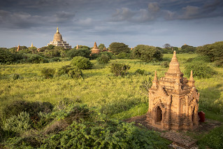 The thousands of temples of Bagan, Myanmar