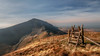 Out in stile... (Einir Wyn Leigh) Tags: landscape path track walking mountain wales light sunshine winter ridge grass february blue sky nikon