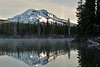 South Sister from Sparks Lake (Cape Arago Photographer) Tags: oregon cascades sparkslake southsister threesisterswilderness tranquility